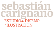 Sebastián Carignano / Diseñador – Ilustrador Logo